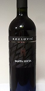 Kozlović Santa Lucia crno