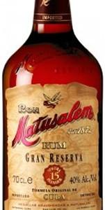 Rum Gran Reserva 15 - Matusalem